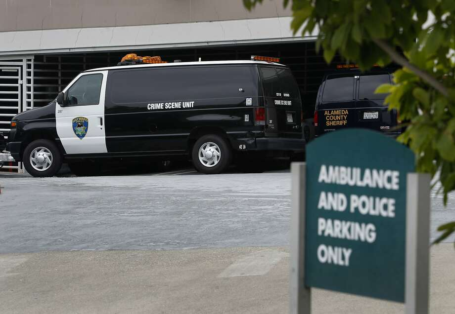 Police are investigating the 10th murder of the year in Hayward. Photo: Paul Chinn, The Chronicle