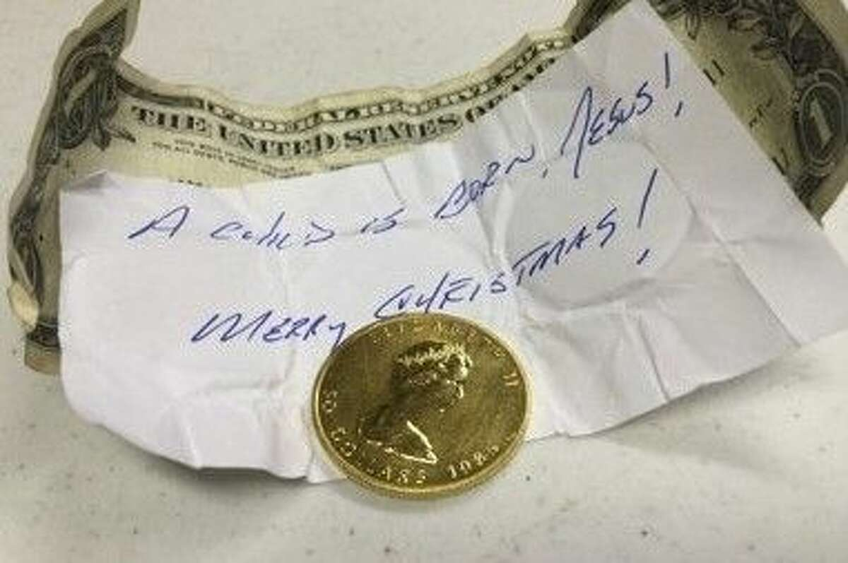 A ninth and final gold coin of the 2014 Christmas season was dropped in a Salvation Army Red Kettle in the Houston area on Dec. 23.