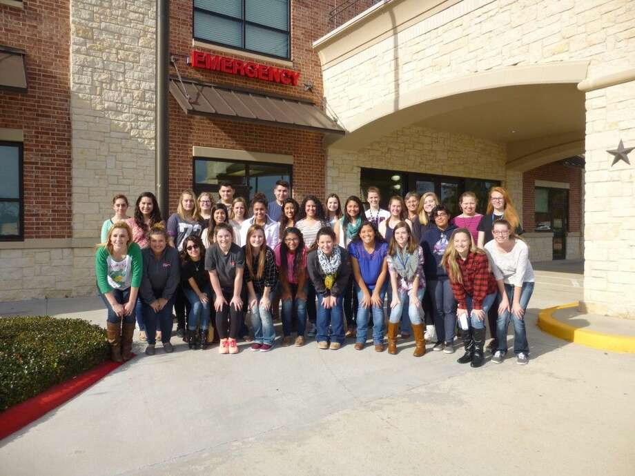 Tomball Regional Medical Center hosted a tour for 40 students from Magnolia ISD's Certified Nursing Assistant Program to expose students to careers in the medical field on Thursday, Dec. 10. Photo: Submitted