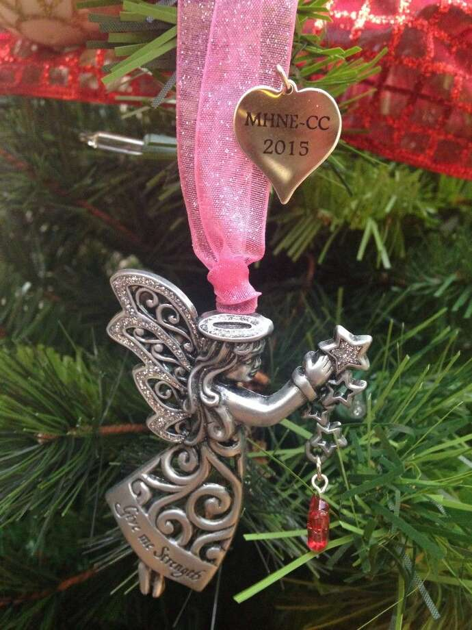 Each year, the Cancer Center at Memorial Hermann Northeast Hospital gives a Christmas tree ornament to those who attend their annual Christmas party. The memento has taken on a much greater meaning to many. Pictured is the 2015 ornament.