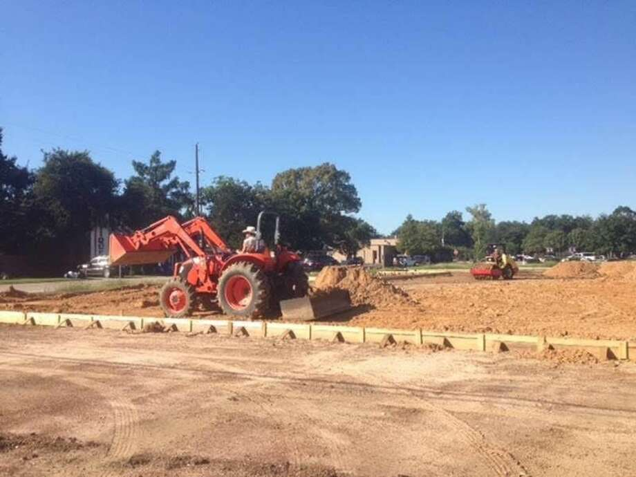 The latest development in Tomball is beginning to take shape along a now vacant patch of ground on Market Street, but new businesses will be part of the downtown Tomball landscape there by the end of spring 2017. Crews are beginning to pour the founda tion for the newest entertain ment venue in downtown. Photo: Tomball Potpourri