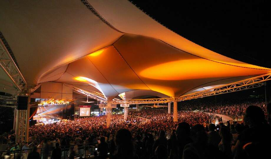 The Cynthia Woods Mitchell Pavilion is now ranked first in the top 100 amphitheaters in the world based on the number of tickets sold so far in 2016.