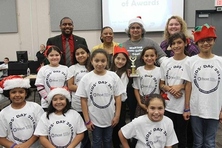 Kruse Elementary wins Best Teamwork.