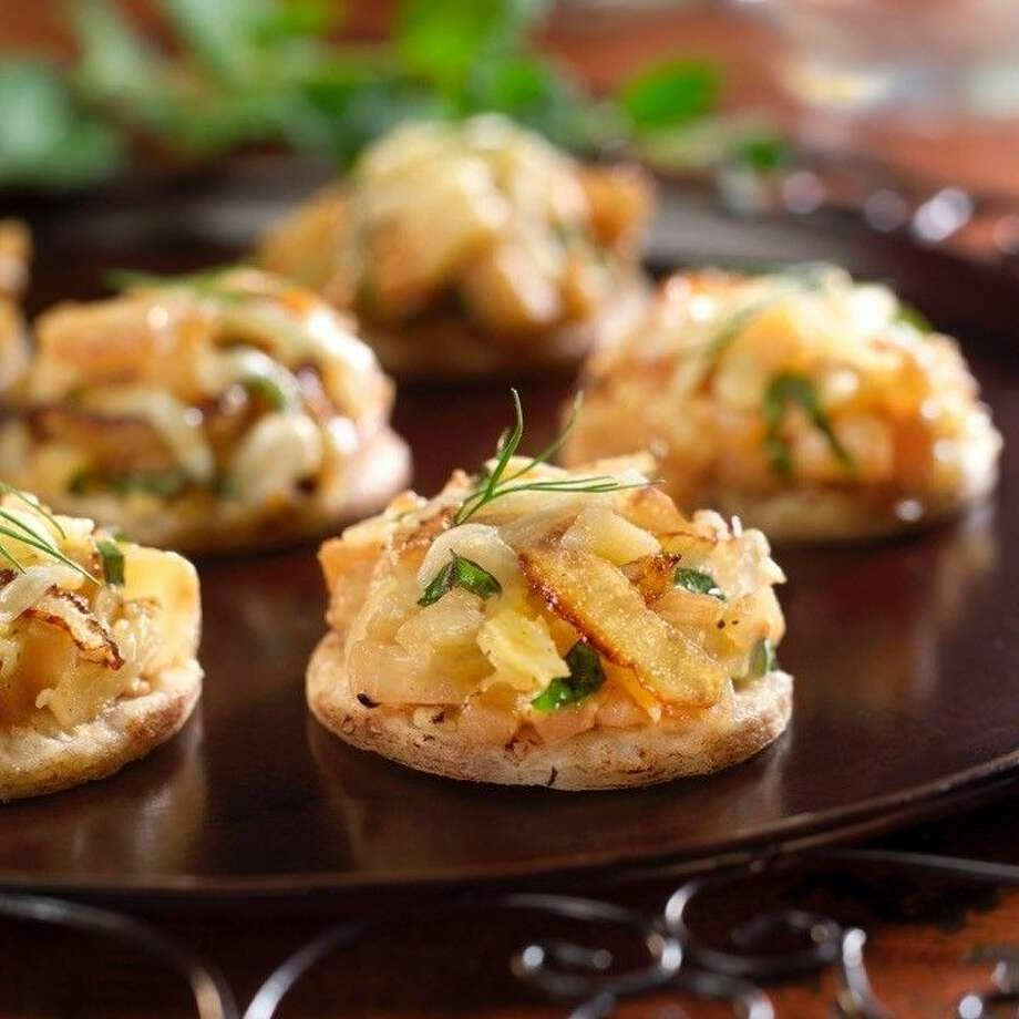 Dishes like the beautiful Walnut Fennel Tarts would make beautiful party hors d'oeuvres. Photo: Courtesy Photo