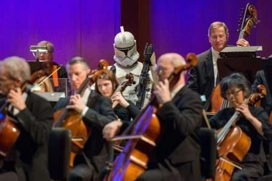 The Houston Symphony's first concert of the year, Star Wars and More: The Best of John Williams, will give a respectful nod to John Williams on Jan. 8-10. Photo: Courtesy Photo