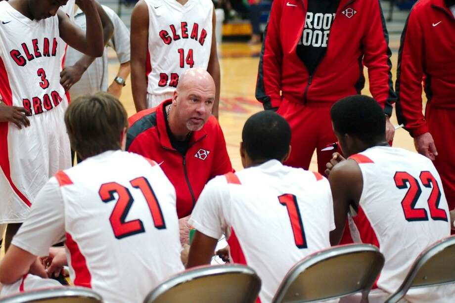 Clear Brook basketball coach Christian Thompson and the Wolverines hope to develop into playoff-contending squad in January. Photo: KIRK SIDES
