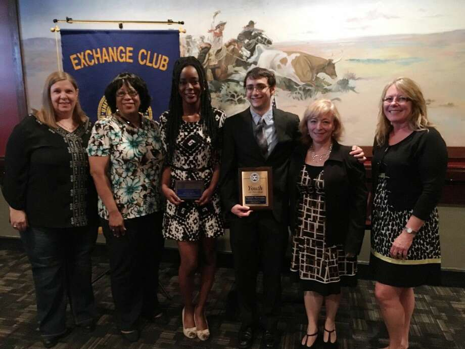 The Hobby Airport Bay Area Exchange Club held its annual Scholarship Banquet recently to present the 2016 Youth of the Year and Accepting the Challenge of Excellence (A.C.E.) Awards to two Clear Creek ISD senior students.