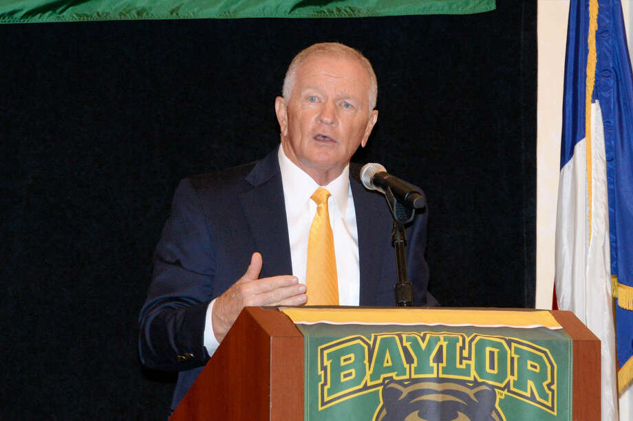 Baylor interim football coach Jim Grobe is entering his first season with the Bears. The 2006 AP coach of the year holds an overall 110-115-1 record in his college coaching career. Photo: Craig Moseley