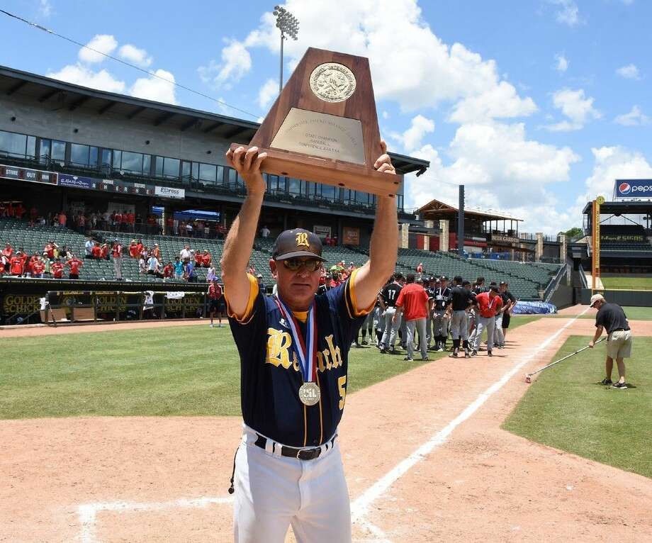 Cy Ranch baseball coach John Pope has joined the Rice University baseball staff as pitching coach. A Rice graduate, Pope guided the Mustangs to state championships in 2012 and 2015. Photo: Submitted Photo