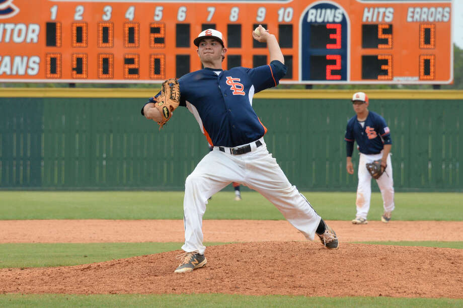 Andrew Knutson and Seven Lakes won their third district championship in five years and added a bi-district title in 2016. View additional photos on HCNPics.com. Photo: Craig Moseley