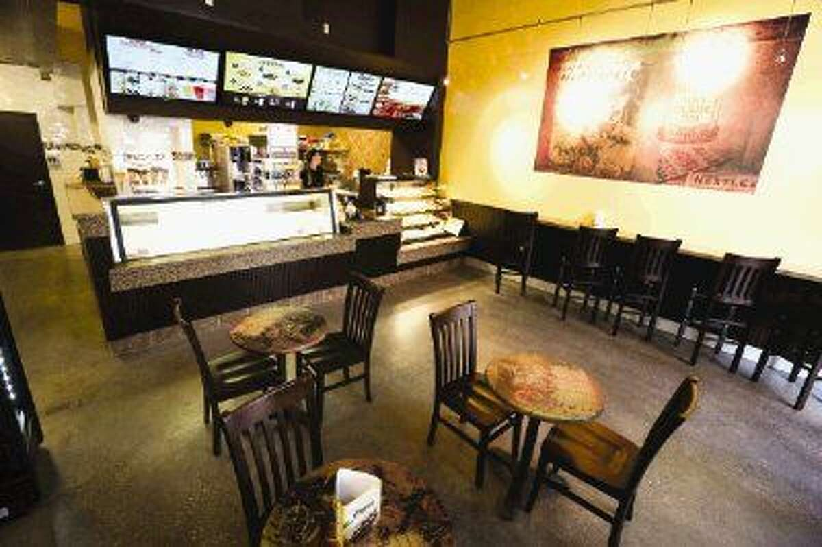 Pictured is the interior of the Nestlé Toll House Café on Wednesday, Dec. 24, 2014, on the Waterway in The Woodlands.