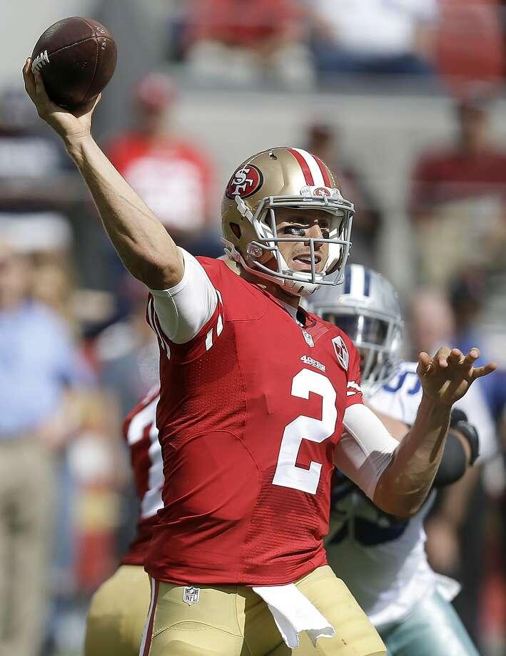 Blaine Gabbert. Photo: Ben Margot, Associated Press