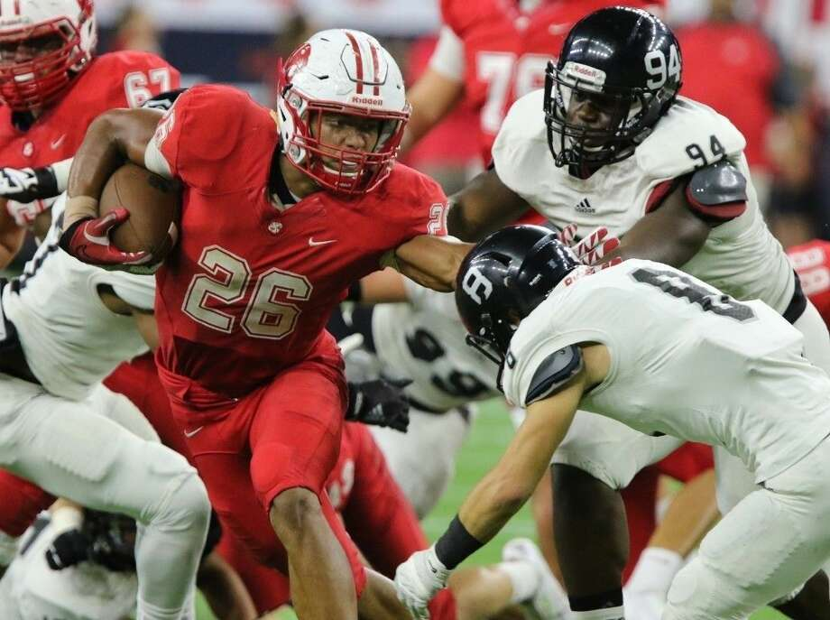 Katy's Rodney Anderson was voted District 19-6A MVP after leading the Tigers to a 14-2 season. Photo: Alan Warren