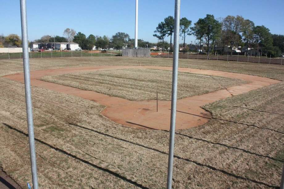 In the last week, the new sod has been put down on two of the fields along with infield dirt. For those who were familiar with the old field, they'll notice a greater amount of foul ball territory behind home plate. Photo: Robert Avery
