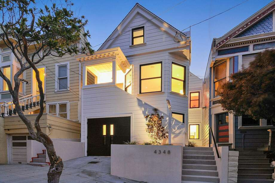 4348 23rd St. in Noe Valley is a remodeled four-bedroom available for $4.295 million.  Photo: Open Homes Photography