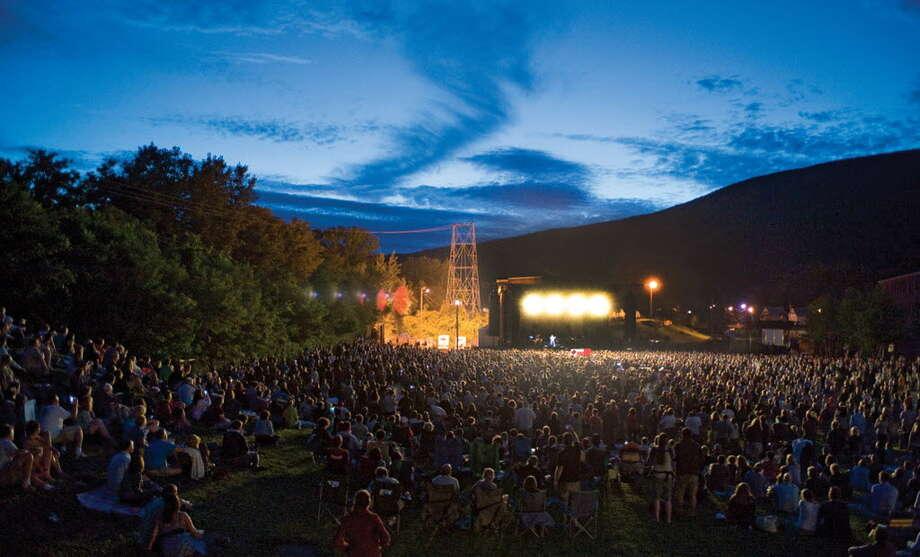 The Wilco Solid Sound Festival at MASS MoCA in North Adams, Mass. in 2010. (Rick Levinson)
