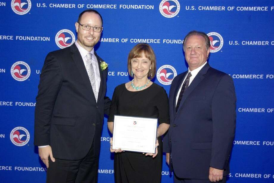 Janette Morgan, IOM, Vice President of Operations, of the Pasadena Chamber of Commerce, has graduated from the program and has received the recognition of IOM.