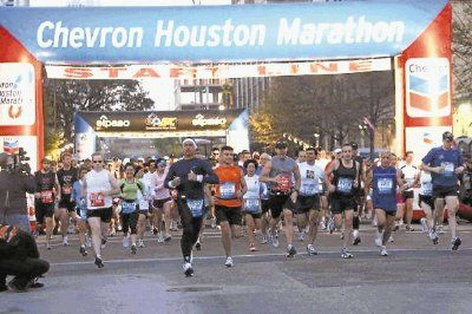 The 44th edition of the Chevron Houston Marathon Race Weekend features stacked fields in both the Chevron Houston Marathon and the Aramco Houston Half Marathon. Photo: Lisa Coniglio