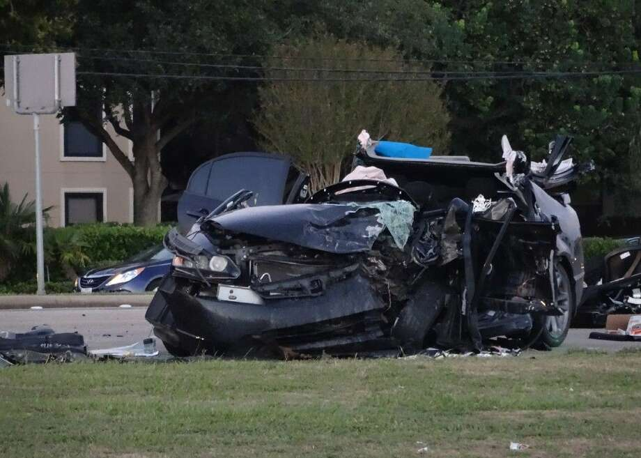 One person was killed and two were injured in a head-on collision Thursday. Photo: Patrick Armstrong