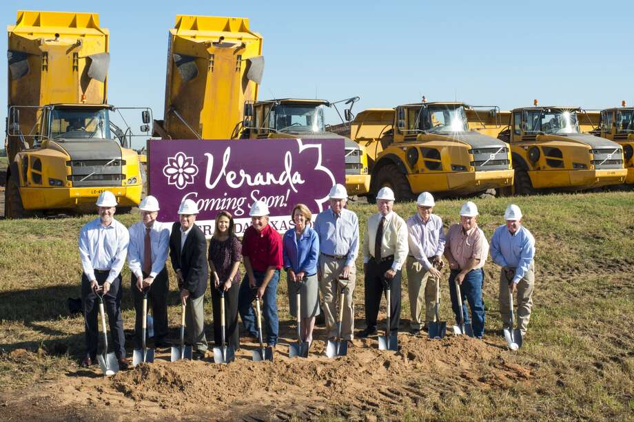 Area officials and the development team broke for Veranda broke ground on the new community near Williams Way Boulevard and U.S. 59 in Richmond.