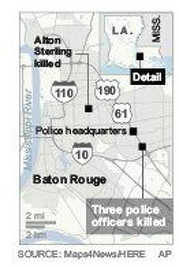 3 Baton Rouge officers killed in shooting; suspect dead