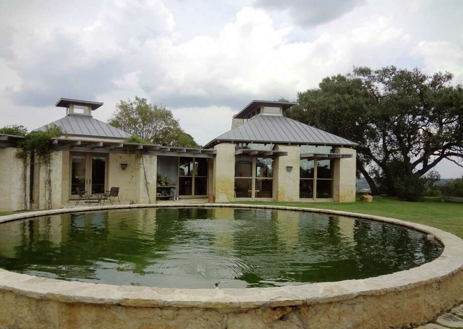 The Story home is built of limestone, with metal roofs with glass-paned cupolas for light and ventilation. Photo: Steve Bennett / San Antonio Express-News