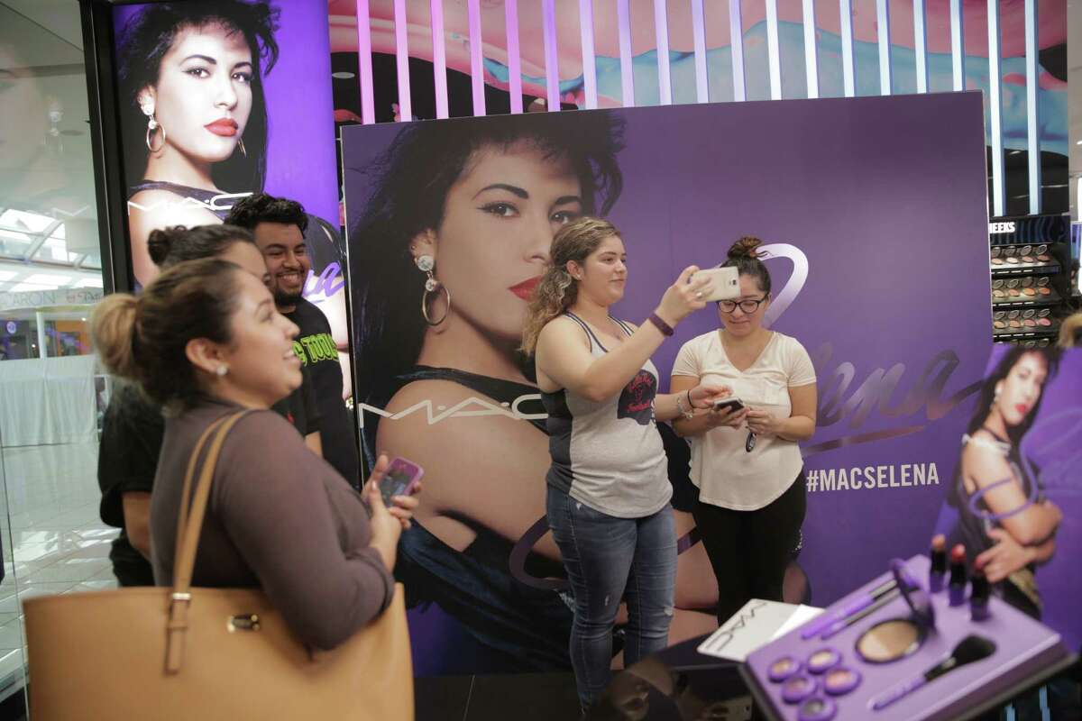 Shoppers make their way into the MAC store at the Galleria for the Selena Collection's debuted at the Galleria on Thursday, Oct. 6, 2016, in Houston. Stores were expecting to sell-out this morning.