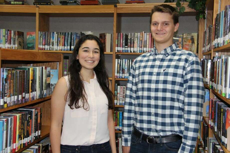 The National Hispanic Recognition Program has recognized Hannah Weinstein and Francisco Masuelli, seniors at The John Cooper School, as Scholars.