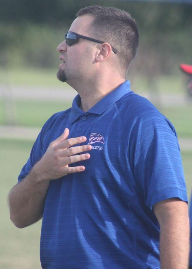 FBCA head football coach Justin Larsen has announced that the Warriors will be putting 6-man football behind them and joining a 10-team TAPPS district for 11-man football games next season. First up in the offseason will be to get the school's field lengthened to 100 yards. Photo: Robert Avery