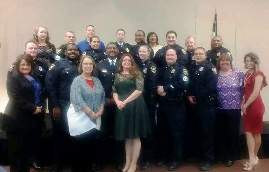 Members of the Cleveland Police Department came together for the Dec. 18 law enforcement awards banquet at the Cleveland Civic Center. Photo: Submitted