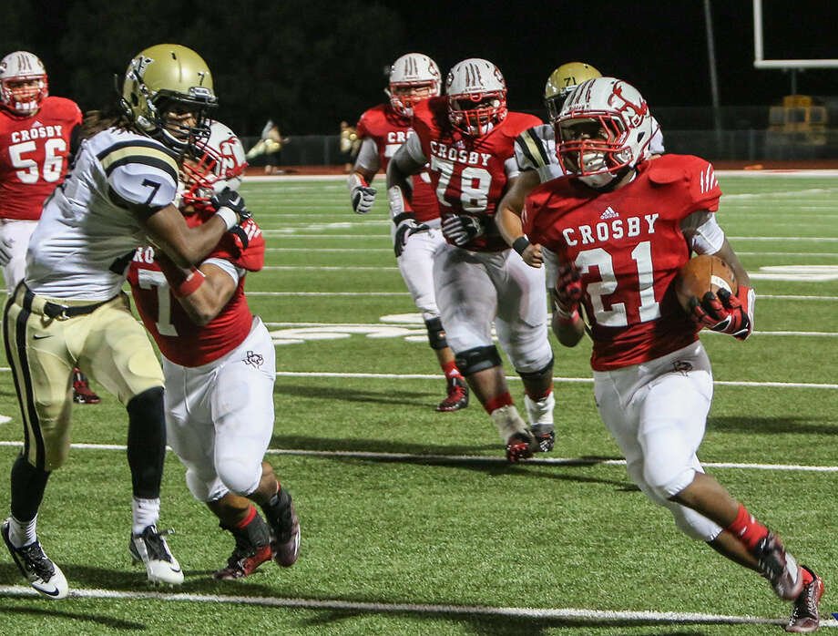 Crosby's Craig Williams was voted the Week 3 area Player of the Week by fans. Photo: Linda Sims