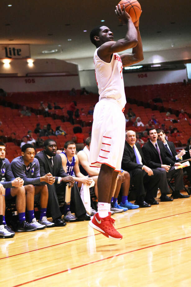 University of Houston junior guard Damyean Dotson scored 15 points and grabbed eight boards for the Cougars Monday, December 28, 2015 at Hofheinz Pavilion against Nicholls State University. Dotson earned Player of the Game honors for his performance.  Photo: Tony Gaines