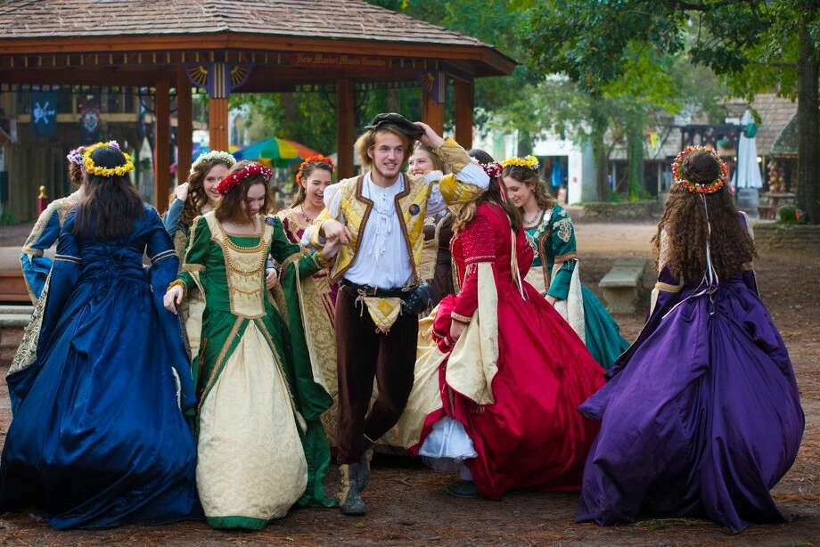Thousands of students competed in this year's School Days at the Texas Renaissance Festival. Photo: Steven David