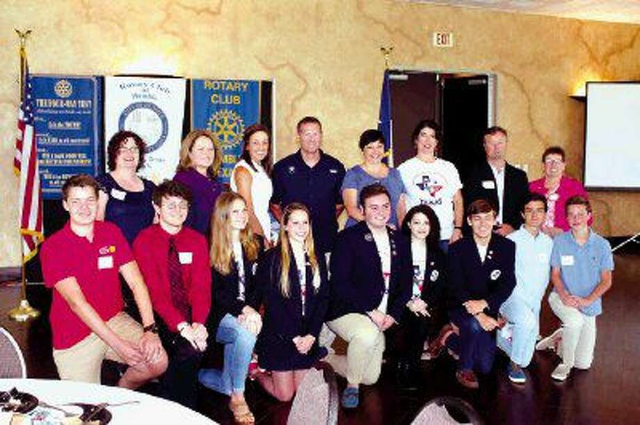 The Rotary Club of Humble recognized 10 Youth Exchange Students at its weekly meeting.