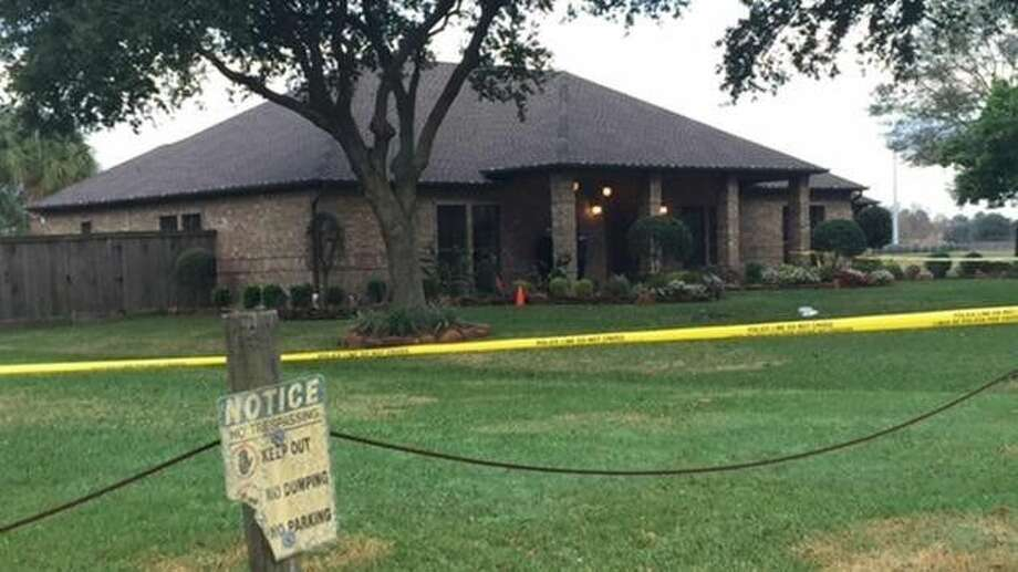 A man was shot Tuesday morning during a home invasion attempt at this home in Pasadena. Photo courtesy ABC-13.