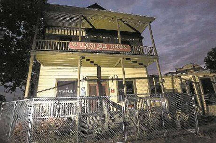 A number of places are known to be haunted in The Woodlands and Spring area, including the old Wunsche Bros. Cafe and Saloon, which was recently closed after a severe fire. The owners are looking to sell.