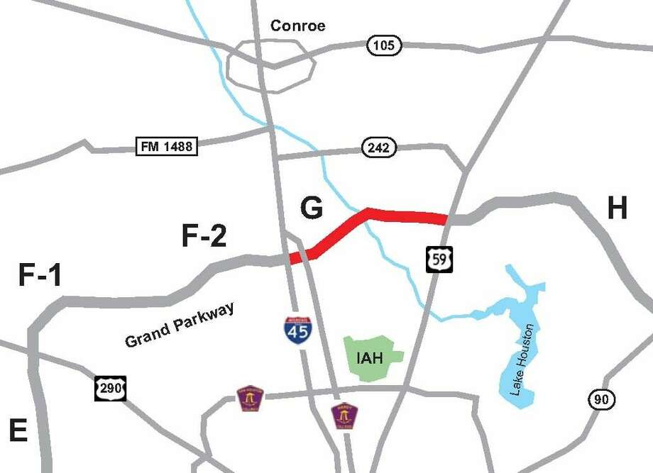 The Grand Parkway Segments F-G connect the communities of Cypress, Spring and New Caney.