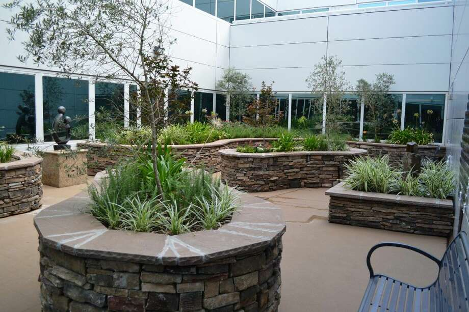 Memorial Hermann Southeast Hospital recently opened a healing garden for employees as part of the hospital's $14 million renovation.