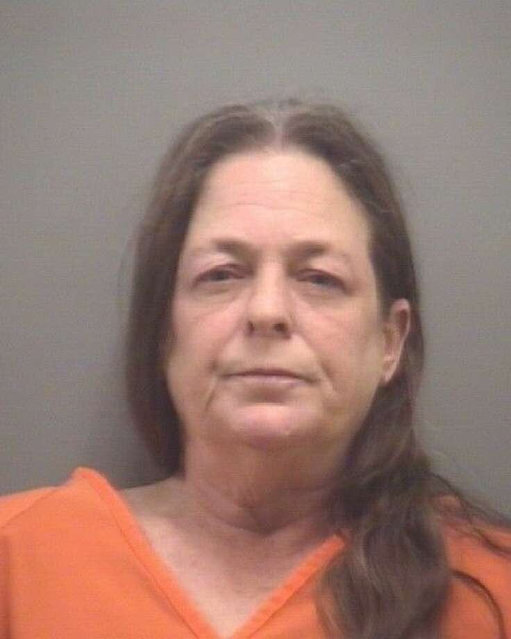 Diana Jean Tewell, 55, of League City was arrested Wednesday (Dec. 30) for allegedly shooting her husband. She remains in the League City Jail on a $40,000 bond. Photo: League City Jail