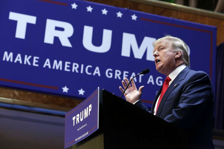 Donald Trump has aid he cares more about his managers' abilities to get things done that their tarctics or pasts. Photo: Richard Drew, Associated Press