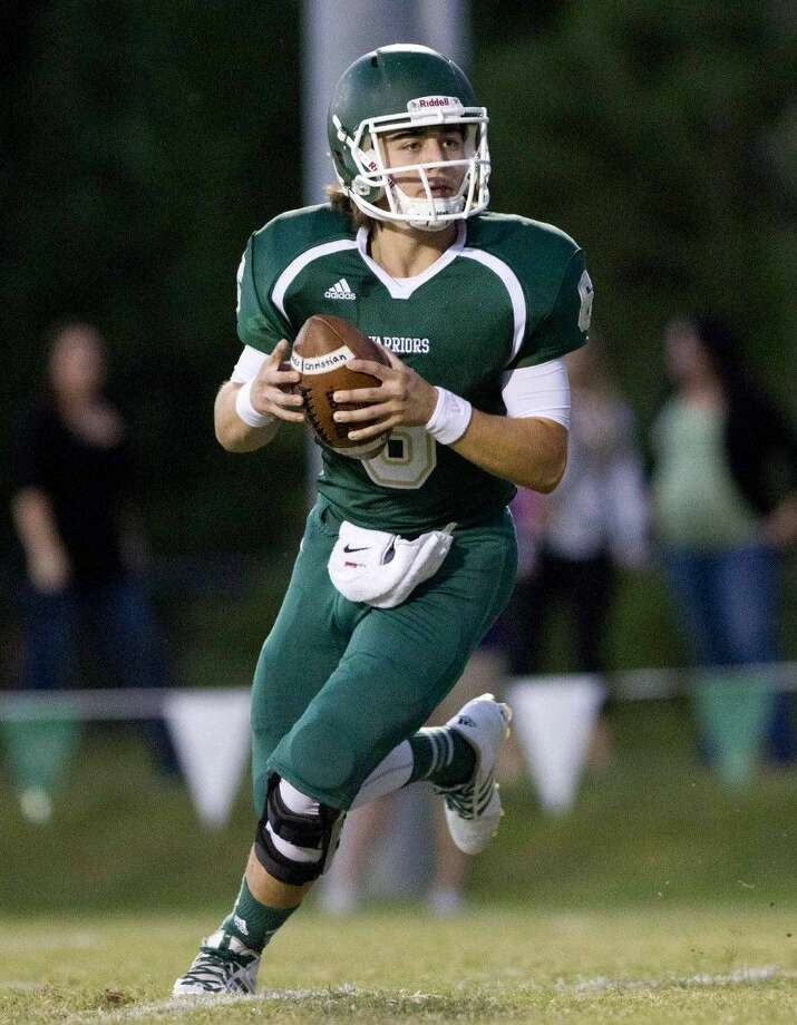 The Woodlands Christian quarterback Jack Bento has completed 51 of 107 passes for 751 yards this season.