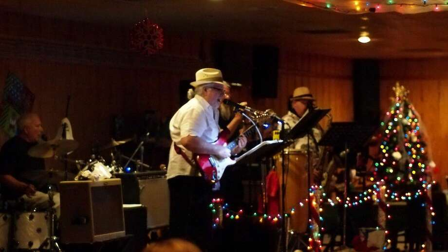 The Liberty County Blues Band performed at the Nolan D. Pickett VFW Post 5621 on Saturday evening, July 23, during the Christmas in July fundraiser for Child Protective Services. Photo: Casey Stinnett