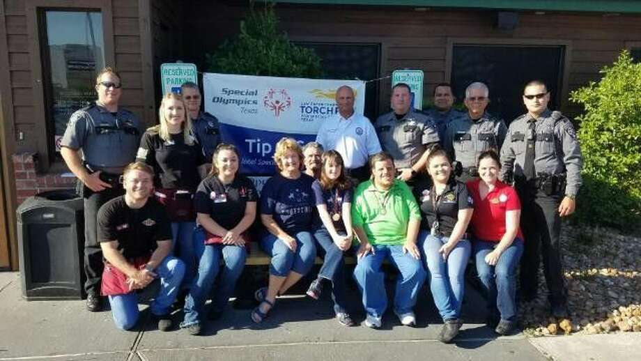 Tip a Cop, a fundraising event that takes place across the country, made its way to Houston and the surrounding area Thursday, July 21, 2016.