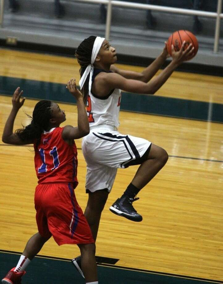 Bush graduate Tamera Gulley signed a National Letter of Intent to attend and play basketball for the University of Arkansas-Fort Smith. Gulley was the District 23-5A Defensive MVP this past season. Photo: HCN File Photo