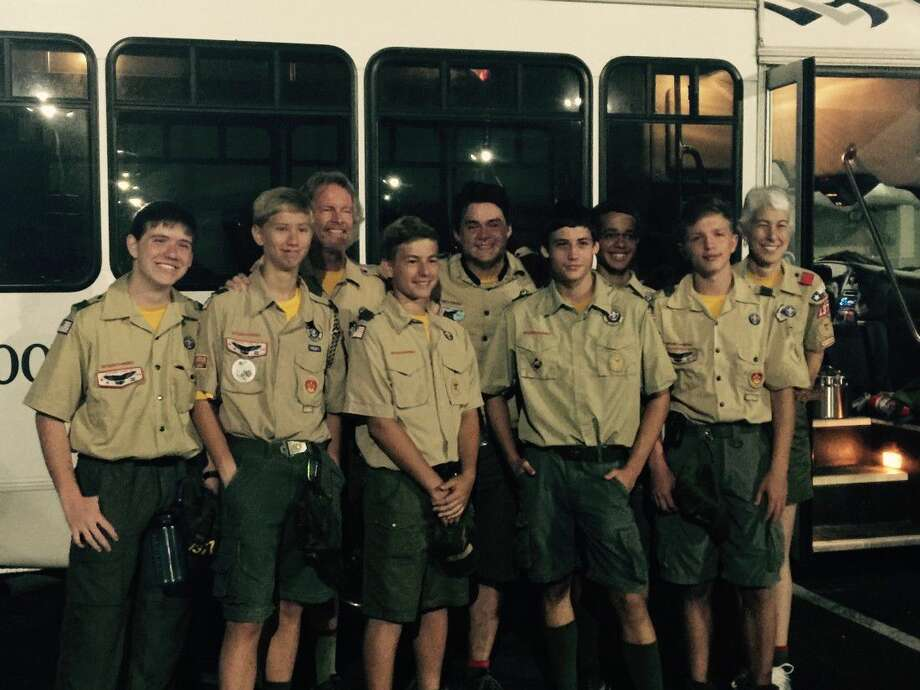 A group of scouts from Kingwood Boy Scout Troop 1377 attended a High Adventure Backpacking trip to the Grand Canyon on July 9-18, 2016.