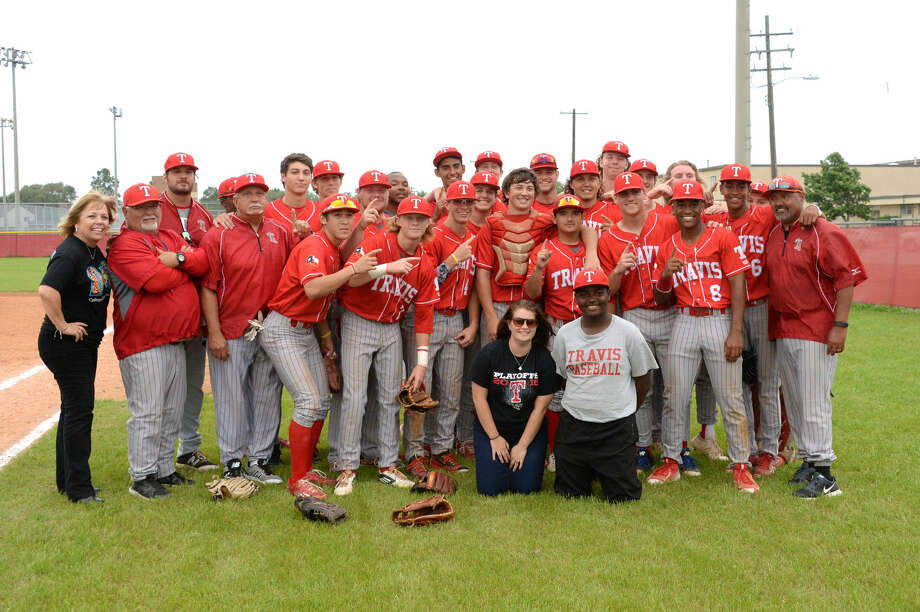 The Travis baseball team finished a perfect 16-0 in District 23-6A during an impressive 25-5 season, adding a playoff victory against Clear Brook. View this and additional photos on HCNPics.com. Photo: Craig Moseley