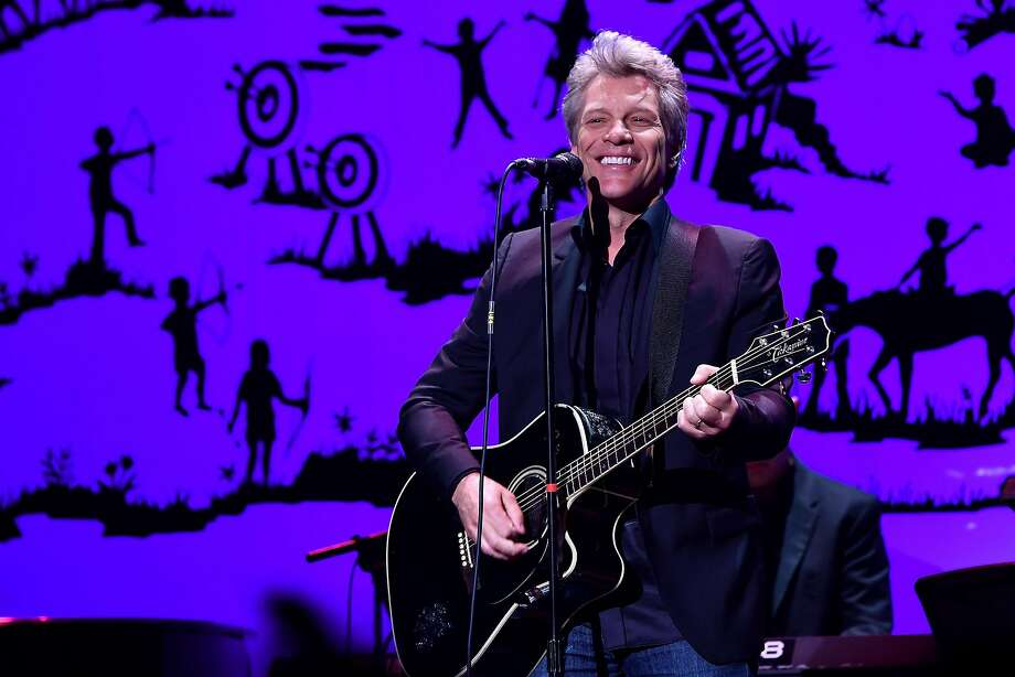 Rocker Jon Bon Jovi and his band will play Sacramento on Feb. 28 and San Jose on March 1. Photo: Slaven Vlasic, Getty Images