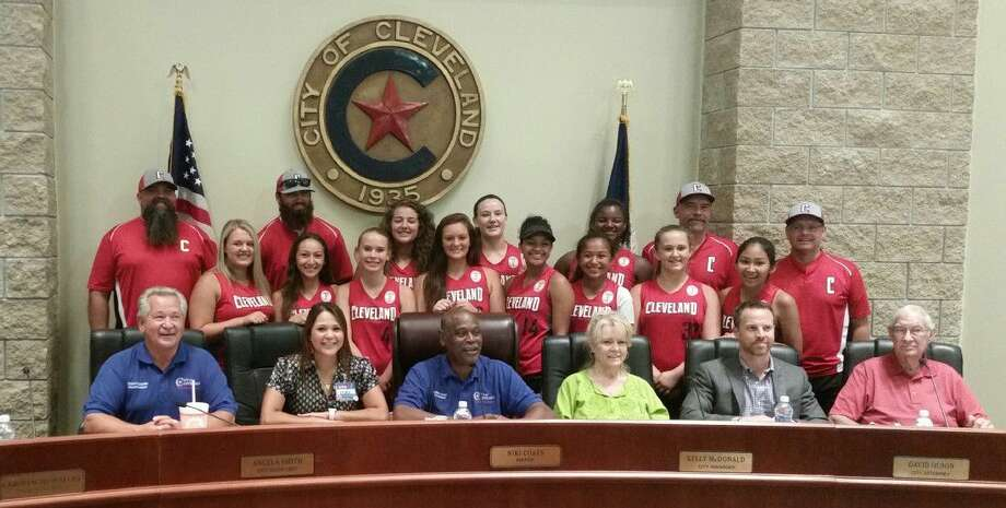 The Cleveland Belles were recognized by the Cleveland EDC during the board's meeting on Monday, July 25.