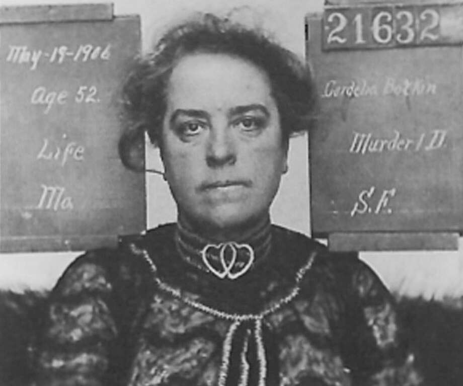 A mugshot of Cordelia Botkin, San Francisco's most infamous poisoner. Photo: Delaware Public Archives