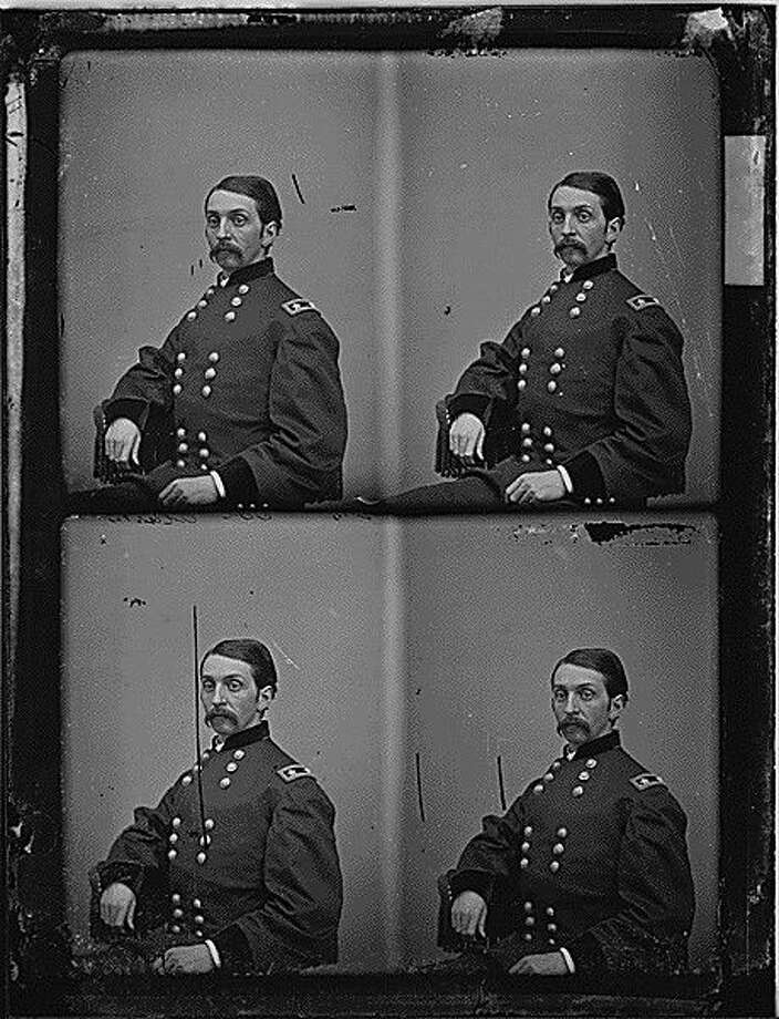 "Shown here is Civil War photographer Mathew Brady's portrait of Gen. William T. Clark held in the collection of the National Archives and Records Administration. Clark settled in Galveston, Texas after the war and represented the third congressional district from 1869 to 1872. In mid-April 1872 he delivered to the House of Representatives a ""petition of certain citizens of Liberty county, Texas"" supporting the passage of a civil rights bill that would have outlawed racial discrimination by railroads, stage coach companies, inns and licensed places of public amusement and entertainment. Photo: Photo Courtesy Of NARA"
